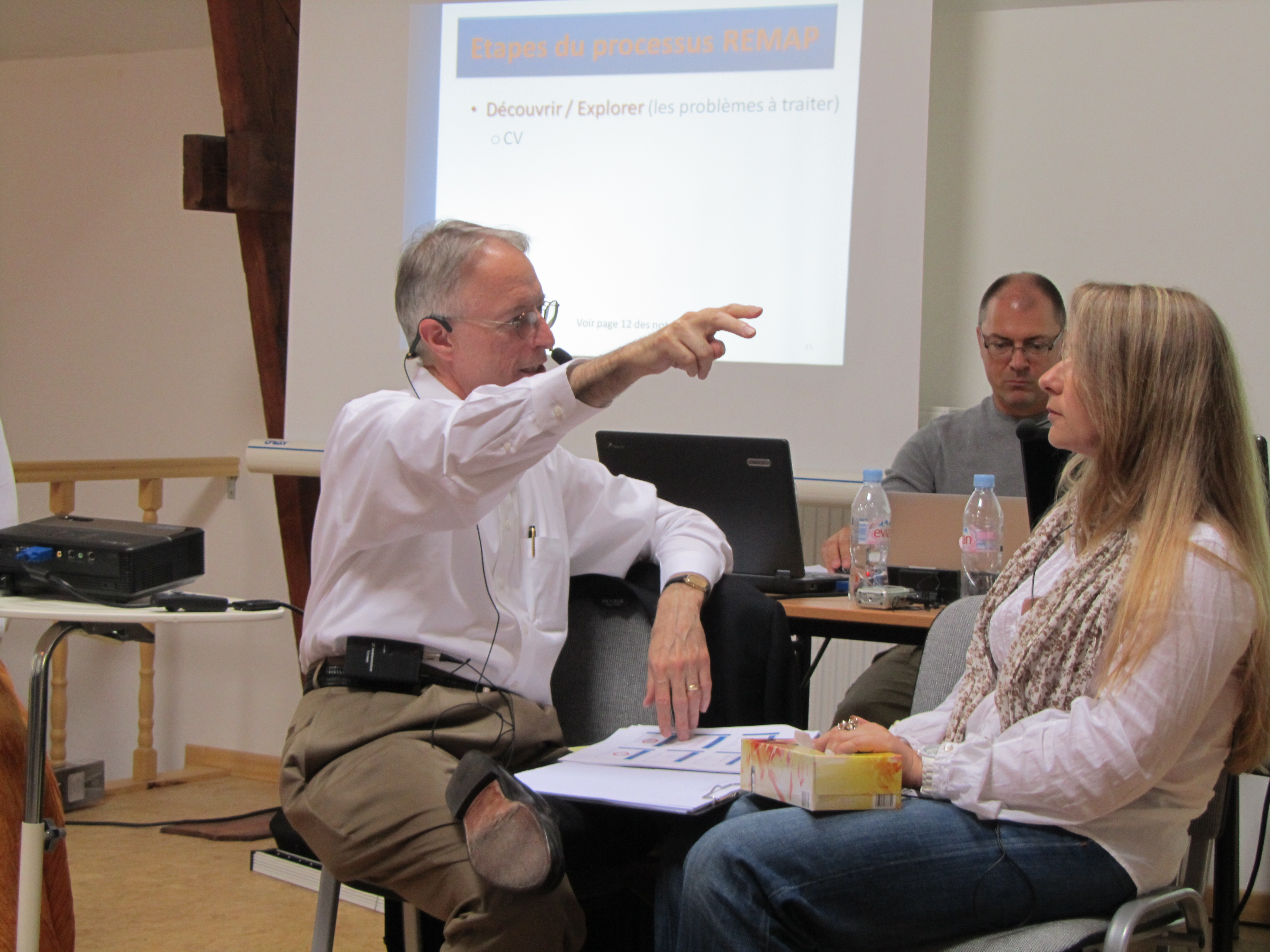 REMAP Visual Field Treatment Training -- Brussels 2011